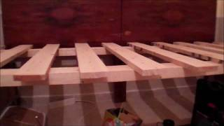 Trash To Treasure: Bench Bed Daybed Project - From 2 Twin Beds