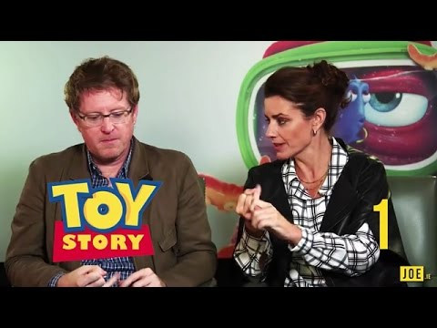 Andrew Stanton & Lindsey Collins test their knowledge in our Pixar film quiz