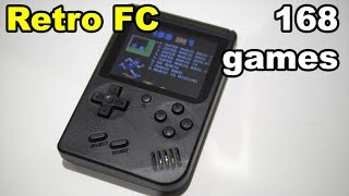 Retro FC RS 6A portable Gameboy mini