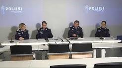 Tiedotustilaisuus: Poliisin valmistautuminen liikkumisrajoitusten valvontaan