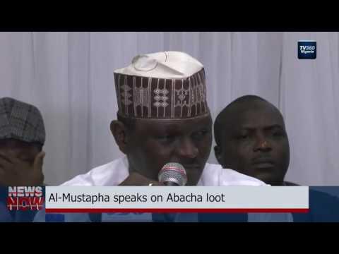 Al-Mustapha speaks on Abacha loot