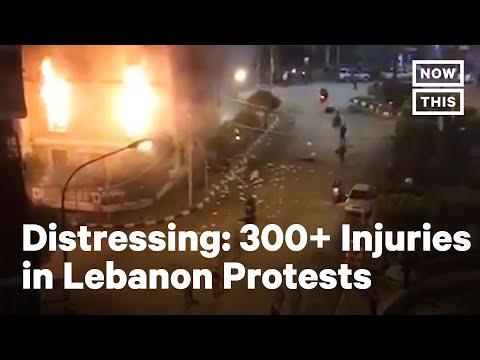 Protests in Tripoli, Lebanon Leave 300+ Injured, 2 Dead