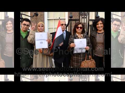 Egyptians Voting For The Constitution In Egypt At The Egypt Embassy In London
