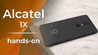 Alcatel 1X isn't your ordinary cheap phone [hands-on]