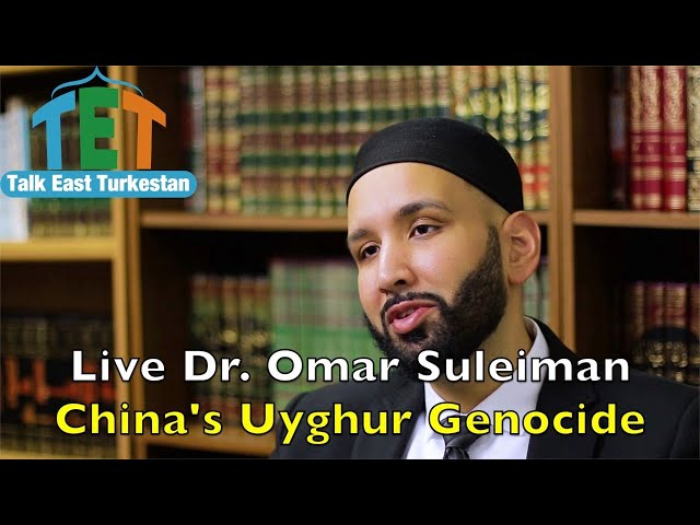 Live with Dr. Omar Suleiman. China's Uyghur Genocide.