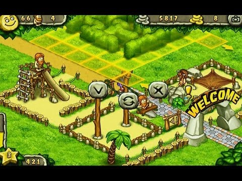 Prehistoric Park Builder - Android gameplay