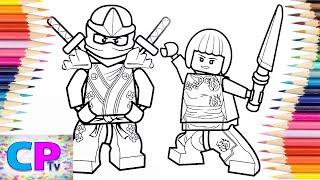 Lego Ninjago Ninja Lloyd and Nya Coloring Pages/Kovan & Electro-Light - Skyline [NCS Release]