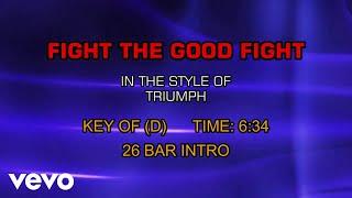 Triumph - Fight The Good Fight (Karaoke)