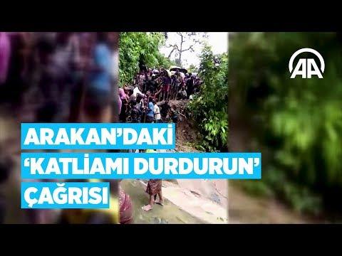 Arakan'daki 'katliamı durdurun' çağrısı