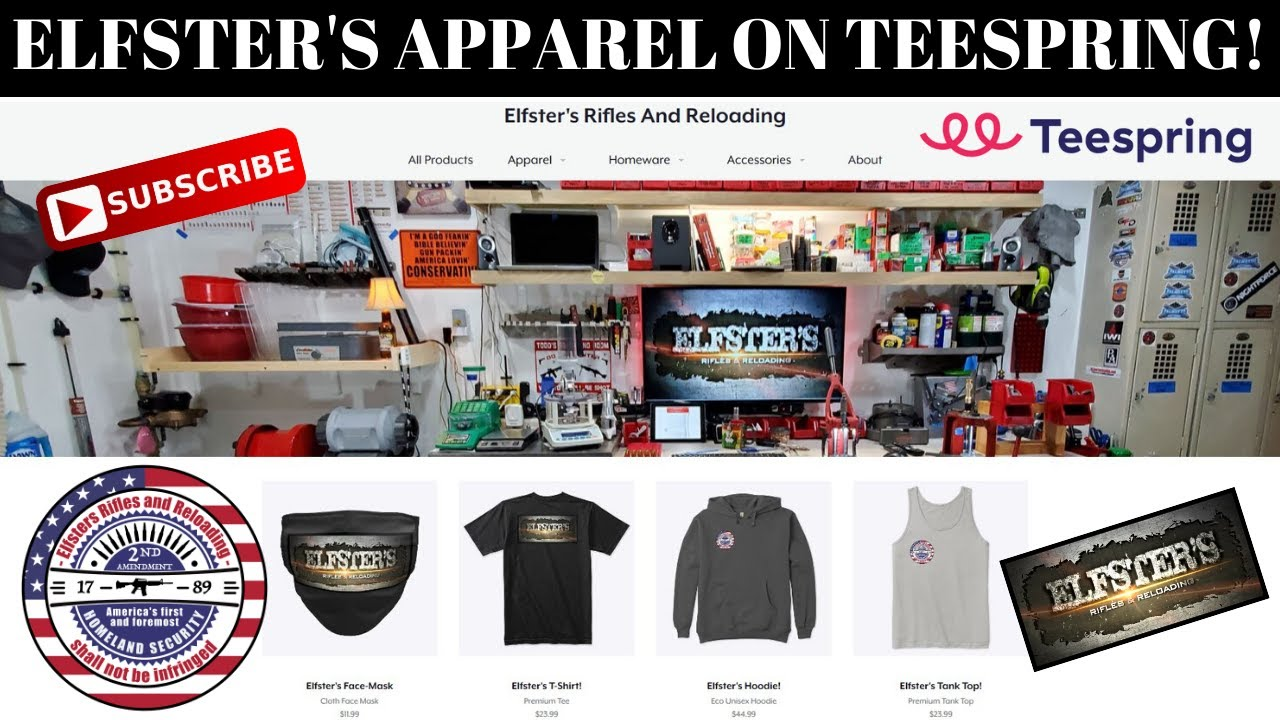 ELFSTER'S R&R NOW AVAILABLE ON TEESPRING!