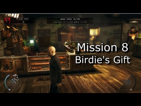 Hitman: Absolution - Mission 8: Birdie's Gift - Hard Walkthrough