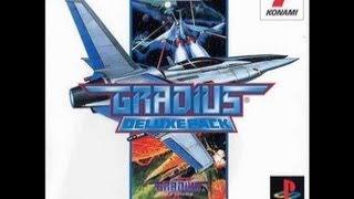 PS Gradius Deluxe Pack Opening Movie