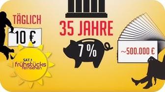 MILLIONÄR werden LEICHT gemacht -  Tipps von Carsten Maschmeyer   SAT.1 Frühstücksfernsehen