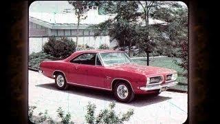 1968 Plymouth Barracuda Sales Features - Dealer Promo Film