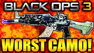 THE WORST CAMO EVER! BLACK OPS 3 DARK MATTER CAMO OLD GEN! (Old Dark Matter Camo Black Ops 3)