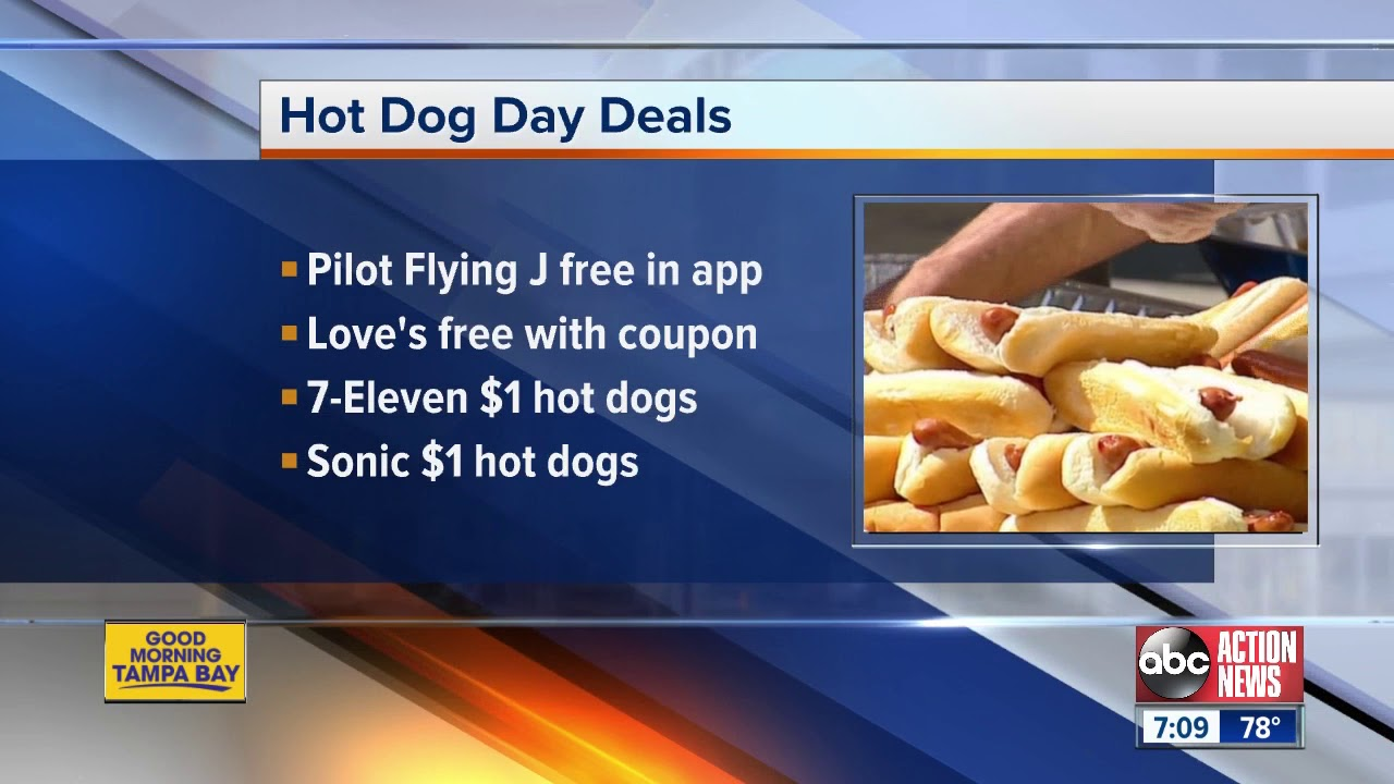 National Hot Dog Day 2019: Where to get freebies and deals to celebrate