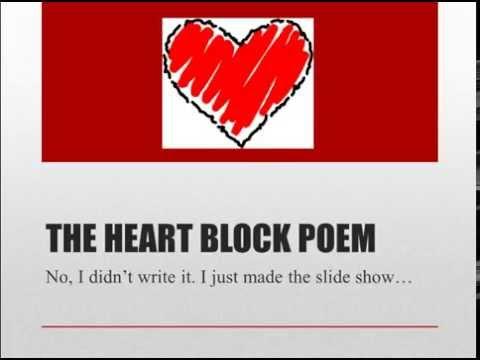 Tricks for Remembering Heart Blocks