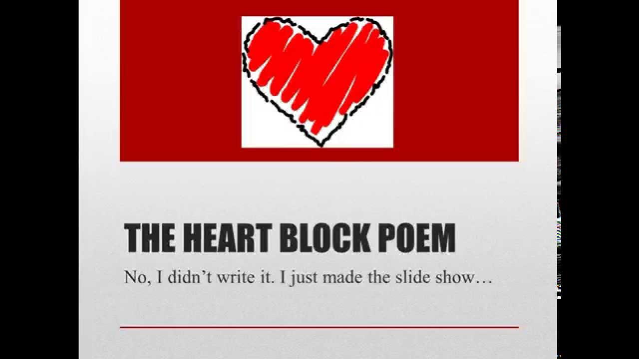 Tricks For Remembering Heart Blocks Youtube