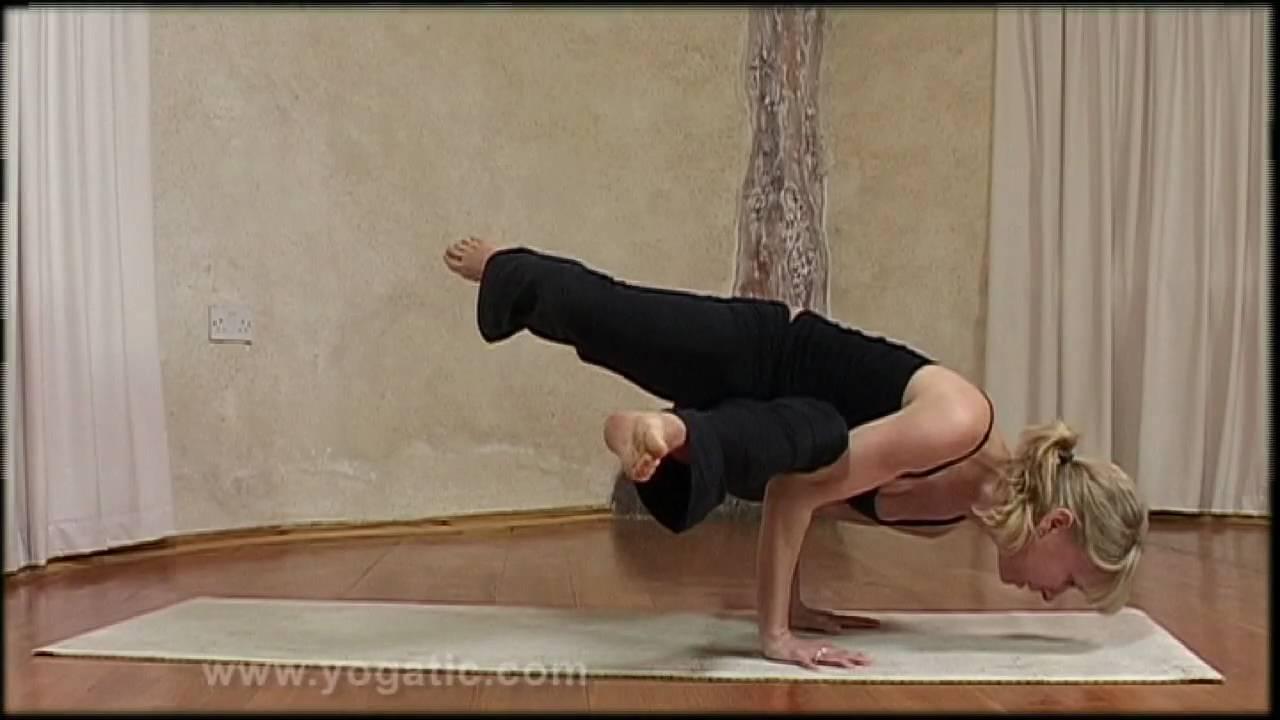 Side Crow Pose Yoga Youtube