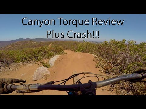 Canyon Torque Review - 2018 CF 9 0 Pro - Plus Crash - 4K