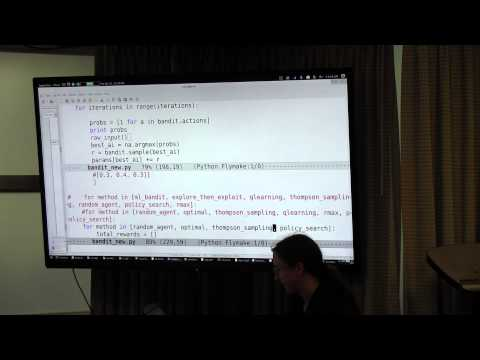 Lecture 20: Rl - RMax, Policy Search, and Deep RL