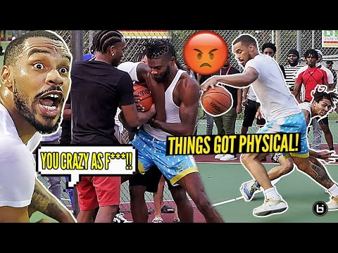 """Download """"YOU WEAK AS SH**!"""" Ballislife Midwest Squad ILLINOIS Park Takeover Got PHYSICAL! *FIGHT BROKE OUT!*"""