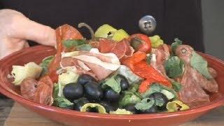 Italian Antipasto Tray Salad : Italian Appetizers