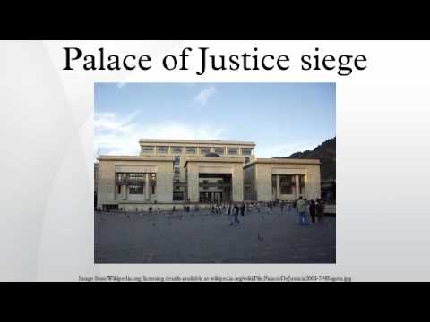 Palace of Justice siege