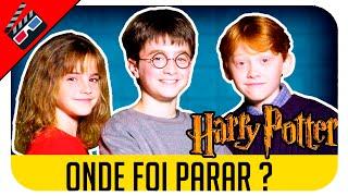 Onde Foi Parar: HARRY POTTER (ANTES E DEPOIS)