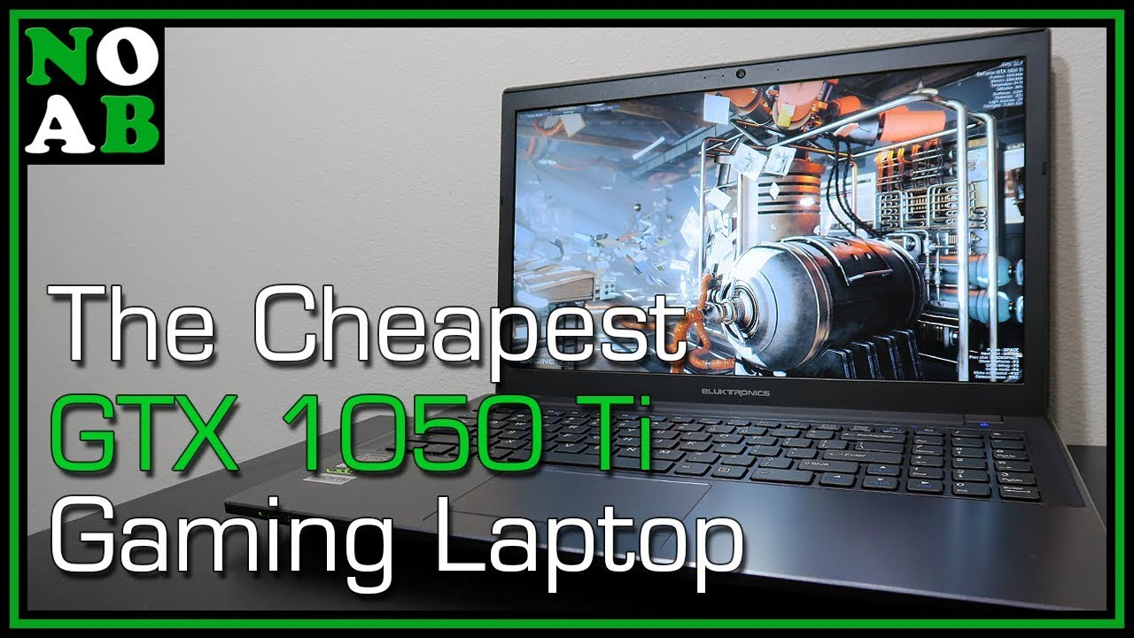 CHEAPEST 1050 Ti Gaming Laptop (2017) - Eluktronics W650KK1 - Great Hybrid Gaming and School Laptop!