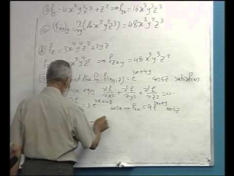 Partial Derivatives + The Chain Rule