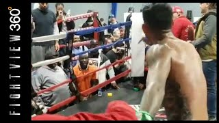 ARE YOU HYPE YET? BUD & JOSE MEDIA WORKOUT BEEF HIGHLIGHTS! CRAWFORD BENAVIDEZ PREVIEW! ESPN 10/13!