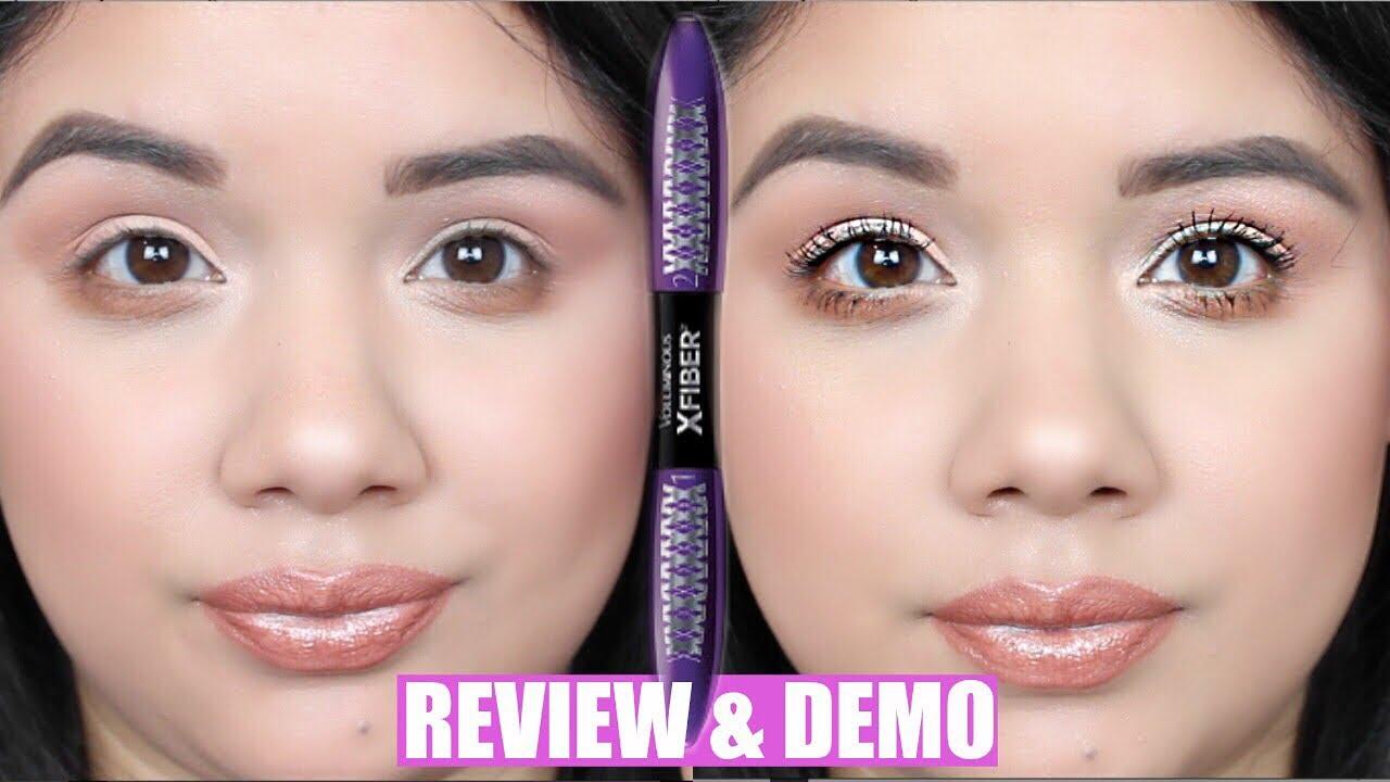 7c3089ba7b8 NEW L'oreal Voluminous X Fiber Mascara | Review & Demo - YouTube