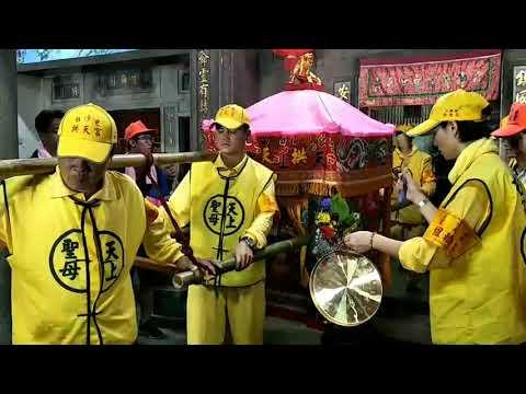 108年白沙屯媽祖-神轎起駕時的神蹟