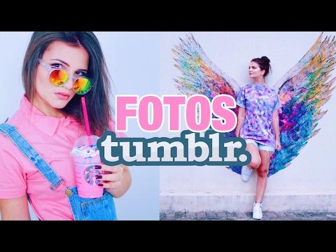 Criando fotos Tumblr! Truques e Tutoriais