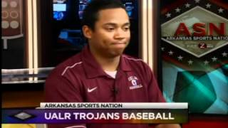 Arkansas Sports Nation Interview w/ Sean Bignall (UALR Baseball 3-15).flv