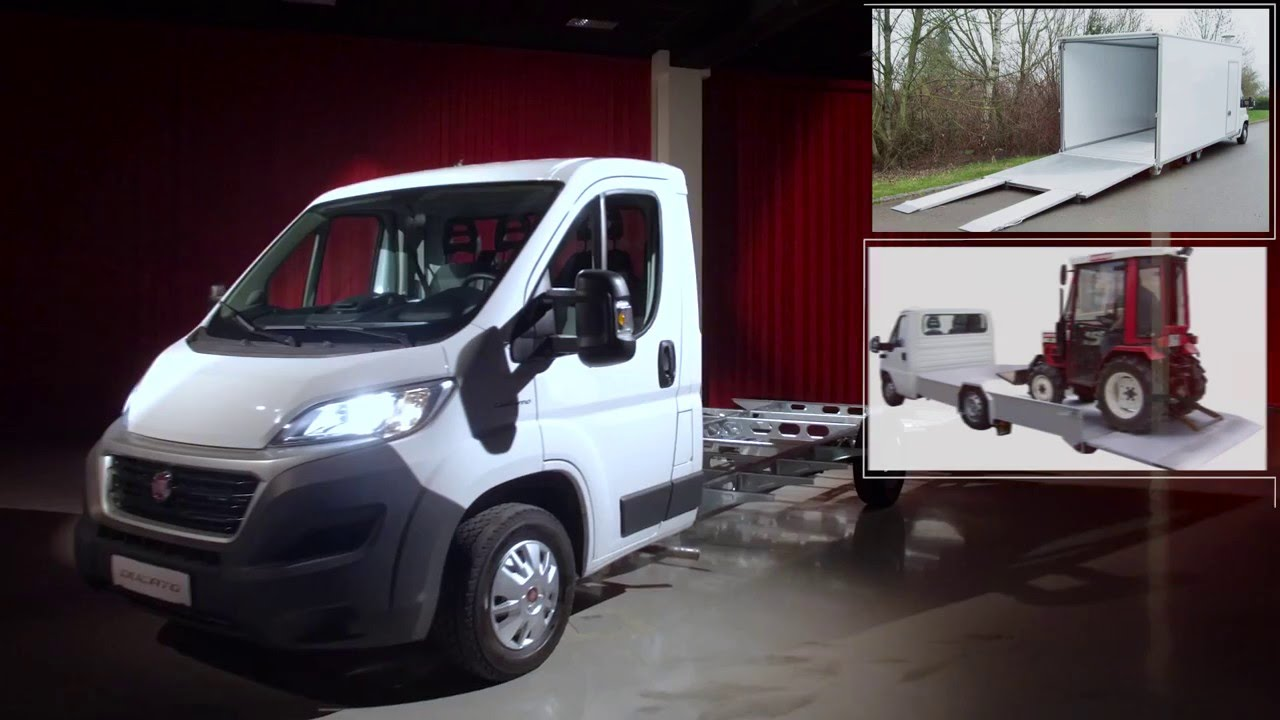 Fiat Professional Ducato Tiefrahmen - YouTube
