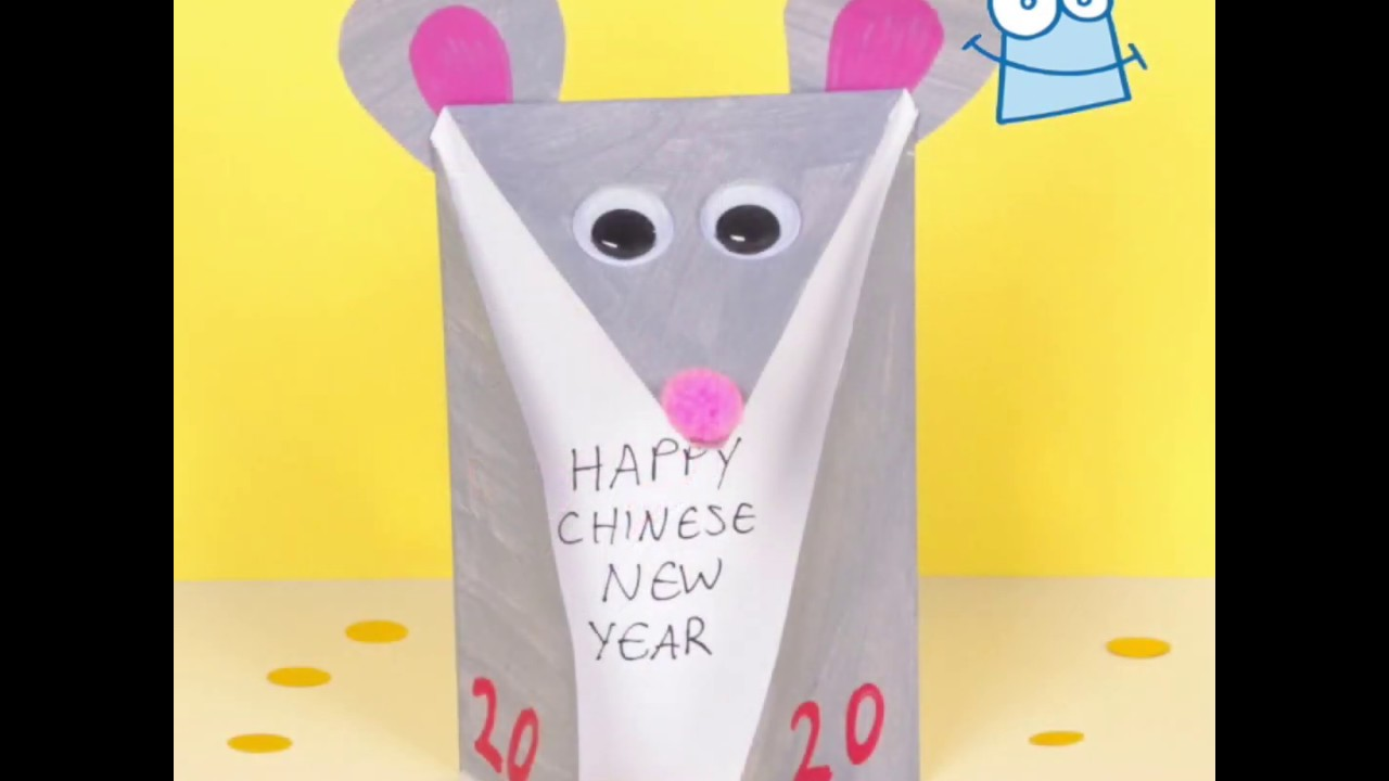 How to make a Year of the Rat Card | Chinese New Year ...