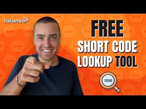 Free SMS Short Code Lookup Tool - U.S. Short Code Directory