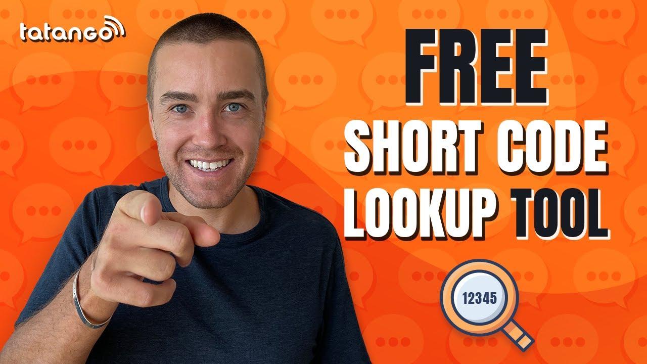 Free Sms Short Code Lookup Tool U S Directory
