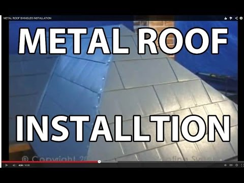 """""""How To Install Metal Roofing Shingles"""" by MetalRoofing.TV"""