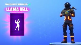 Fortnite: *NEW* LLAMA BELL EMOTE! - How To Get FREE V-Bucks (Fortnite Daily Item Shop) [August 20th]