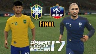 BRASIL X FRANÇA • Final • Dream League Soccer 2017