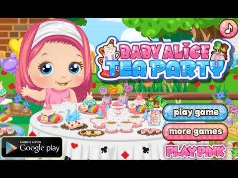 Baby Alice Tea Party Online Free Flash Game Videos ...