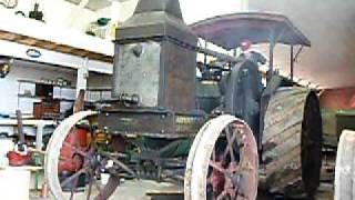 """Rumely Oil Pull 20-40 &quotG"""" Start and Run Part 1"""