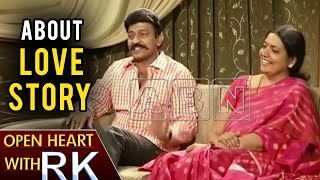 Jeevitha Rajashekar About Their Love Story | Open Heart With RK | ABN Telugu