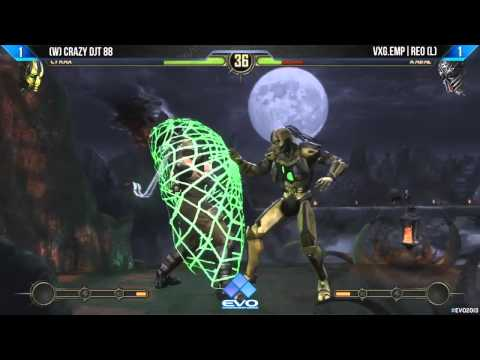 EVO 2013: Mortal Kombat 9 (MK9) Grand Finals: Crazy DJT 88 (Cyrax) vs VXG.EMP|Reo (Kabal)