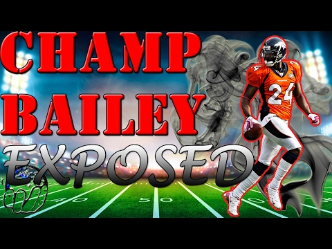 Champ Bailey EXPOSED! UNBELIEVABLE MOSS ACTION In Madden 17 Draft Champions Gameplay!