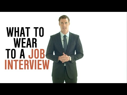 Dress Smarter: What to Wear to a Job Interview