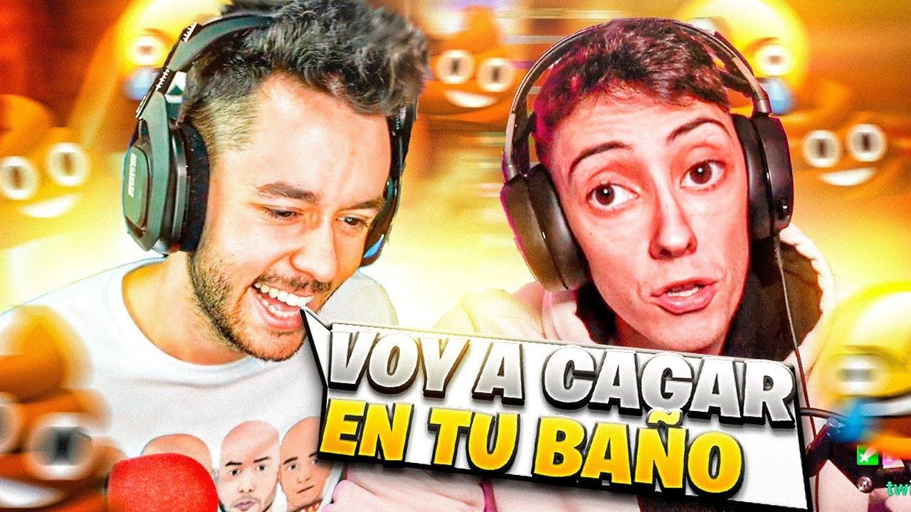 🤣 VOY A CAGAR EN TU BAÑO 🤣 - Mejores Momentos Twitch España & LATAM #mejoresmomentos #twitch